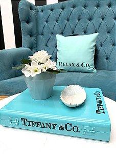 Livro Decorativo Tiffany
