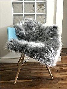 Pelúcia para Cadeira Cinza
