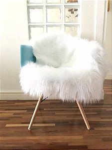 Pelúcia para Cadeira Branco