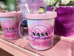 Caneca NASA Rosa