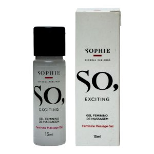 SO EXCITING GEL EXCITANTE FEMININO SOPHIE