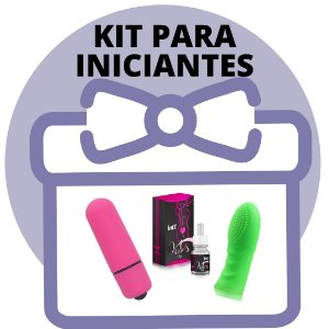 KIT PARA INICIANTES - BULLET + EXCITANTE + DEDEIRA COM TEXTURA