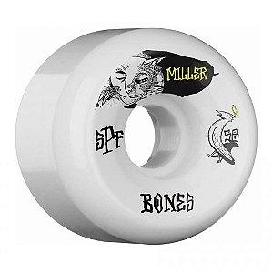Rodas Bones Wheels Chris Miller SPF Guilty Cat - 84b 58mm
