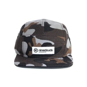 Boné Nineclouds Camo 5 Panel