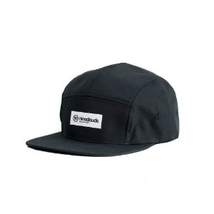 Boné Nineclouds All Black 5 Panel