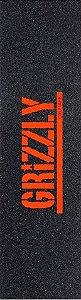 Lixa Grizzly Logo Laranja
