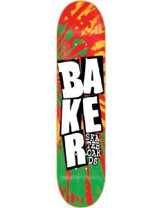 Shape Baker Tie Dye Rasta 8.0
