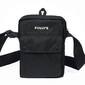 Shoulder Bag Outfit Preta