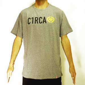 Camiseta T-Shirt Logo Right C1rca Cinza Mescla