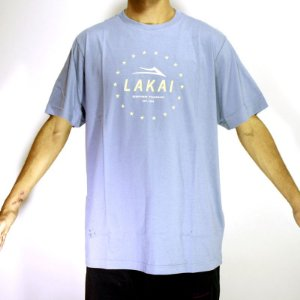CAMISETA T-SHIRT ESTABLISHED LAKAI AZUL INDIGO