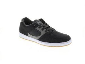 Accel Slim Mens Gray Suede