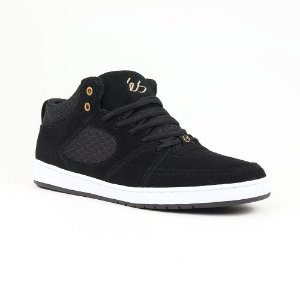 Es Accel Slim Mid Black White Gold