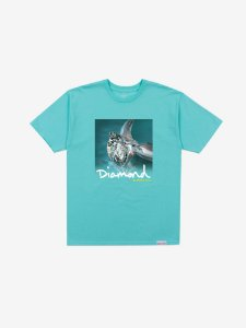 SHIMMER TEE - DIAMOND BLUE - TAM. G
