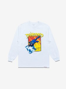GREED LONGSLEEVE - WHITE - TAM. G