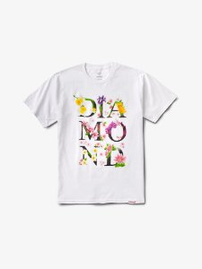 BOTANICAL TEE - WHITE - TAM. M