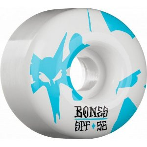 BONES WHEELS SPF REFLECTIONS SKATEBOARD WHEELS P2 56MM 84B 4PK