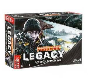 Pandemic Legacy 2ª Temporada: Black Edition