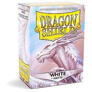 Dragon Shield - White Matte