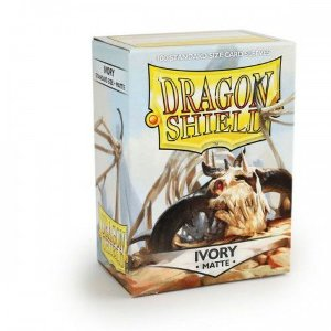 Dragon Shield - Ivory Matte