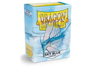 Dragon Shield - Sky Blue Matte