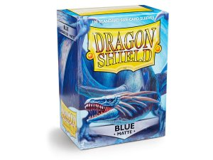Dragon Shield - Blue Matte