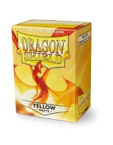 Dragon Shield - Yellow Matte