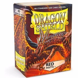 Dragon Shield - Red Matte