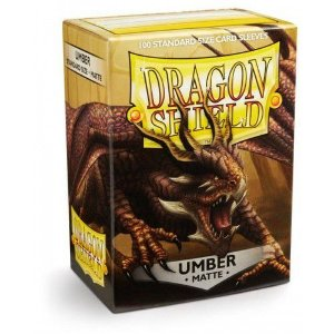 Dragon Shield - Umber Matte