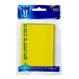 Max Card Sleeves - Amarelo