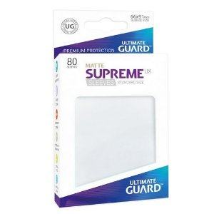 Ultimate Guard Matte Supreme - White
