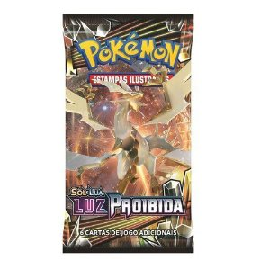 Booster Pokémon: Sol e Lua  - Luz Proibida (Blister)