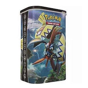 Lata Porta Cards Pokémon – Treinador De Elite Tapu Koko