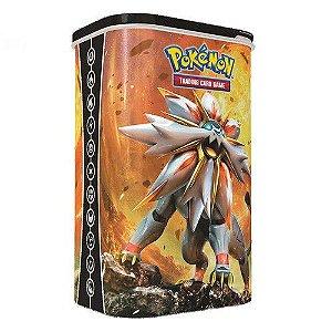 Pokémon Lata Porta-Baralho: Solgaleo