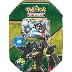Pokémon Lata  Lendas de Kalos - Zygarde EX