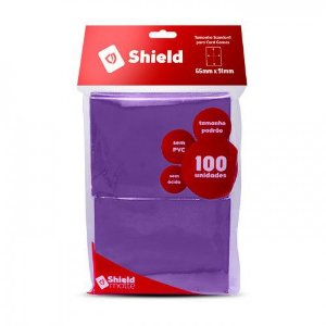 Central Shield - Matte Roxo