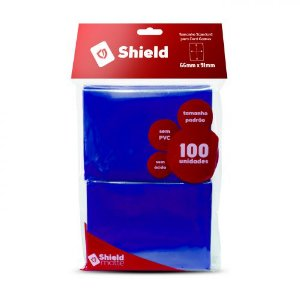 Central Shield - Matte Azul