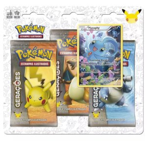 Blister Triplo Pokemon Míticos - Manaphy