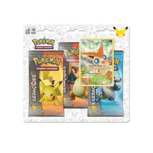Blister Triplo Pokemon Míticos - Victini