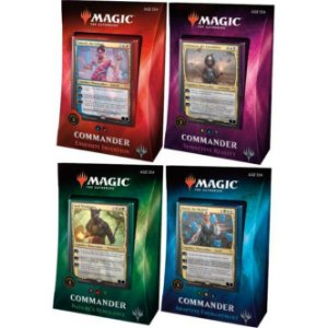 MTG Kit 4 Decks Commander 2018