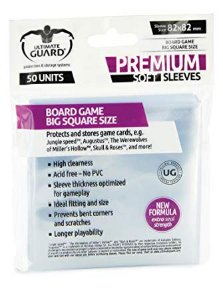 Ultimate Guard Soft Sleeves - Big Square Size