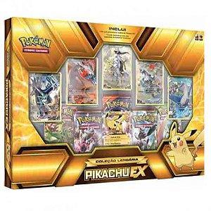 Pokémon Coleção Lendária - Pikachu Ex