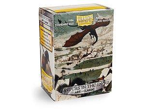 Dragon Shield - Hunters in the Snow Art