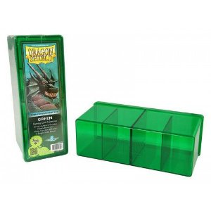 Dragon Shield Four Compartment Box - Green