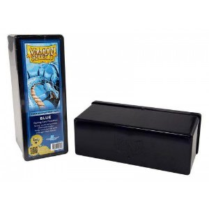 Dragon Shield Four Compartment Box - Blue