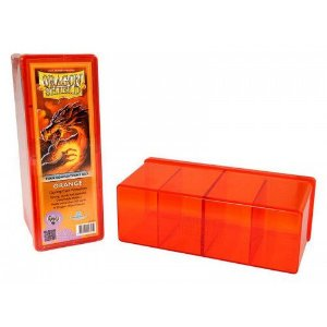 Dragon Shield Four Compartment Box - Orange