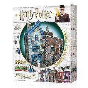 Harry Potter 3D: Loja de Varinhas Olivaras e Instrumentos de Escrita Scribbulus
