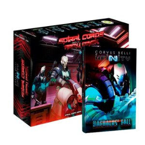 Bundle Daedalus' Fall - Spiral corps Army Pack + Livro Daedalus' Fall