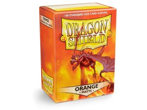 Dragon Shield - Orange Matte