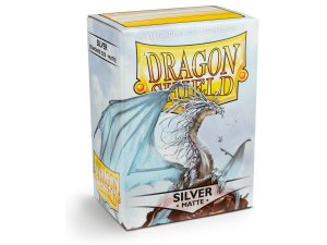 Dragon Shield - Silver Matte