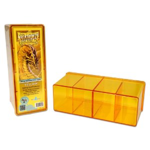 Dragon Shield Four Compartment Box - Yellow